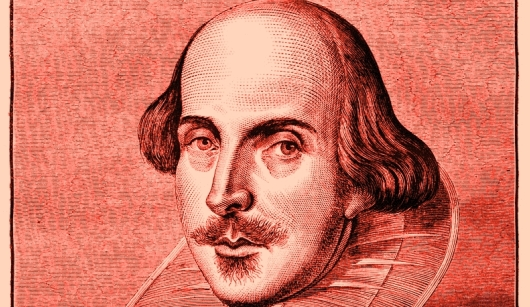 Shakespear engraving shutterstock_80645992 red saturation 530 x 284